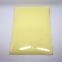 Wholesale- 21 * 29.7cm 20Pcs Clear PET autoadhésive Imprimante A4 Kraft Paper Sticker pour fête enveloppe 8.3x11.7