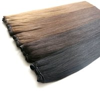 Wholesale full human hair weave extensions for sale - Group buy Lasting Months Brazilian Hair Weaves Human Hair Bundles Full Cuticle Remy Indian Peruvian Malaysian Double Weft No Tangle Hair Extensions