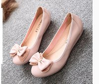 Wholesale Pearl Lighter - Single ms summer soft-soled shoes lighter with flat shoes