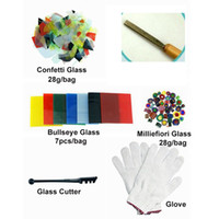 Wholesale Microwave Kiln Kit - 9Pcs Set Microwave Kiln Glass Fusing Diy Tools Fit For Fuse word small Microwave Kiln Kit Art Work kiln for glass fusing 0710010