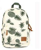 Wholesale Hot Book Design - 2017 Hot Special Designed Backpack Pineapple Printing School Bags For Teenager Girls Book bags Travel Bag Laptop Rucksack