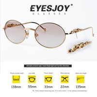 Wholesale Leopard Fashion Frames - Gold retro round Sunglasses Brands for Women Men Luxury Three-dimensional Leopard Brand Designer sunglasses With Box CT638408282