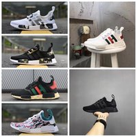 Wholesale Cheap Casual Boots For Men - 2017 NEW NMD Camo NMD Runner Primeknit Sneakers With BOX NMD Fashion Running Shoes Casual Shoes for Men and Women Cheap Sale