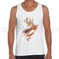 Wholesale Draw Vest - Wholesale- The saiyan within you printed Men tank tops sleeveless casual hand-drawing Vest hipster funny bodybuilding shirt
