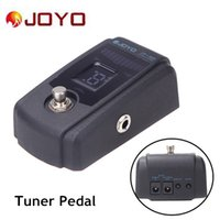 Wholesale Joyo Pedals Free Shipping - Joyo JT-305 Guitar Tuner Pedal with Metal Casing 4 Display Modes True Bypass Design with Pedal Switch Free Shipping