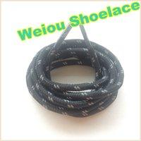 ingrosso merletto sportivo 3m-Weiou new fashion lacci per scarpe riflettenti 120cm lacci luminosi a scacchi 3M pizzo riflettente corda per scarpe sportive Decorazione