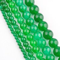 Wholesale Green Jade Beads 4mm - New Arrival 2015 Green Jade Spacer Beads for Making Jewelry 4MM 6MM 8MM 10MM 12 MM Wholesale