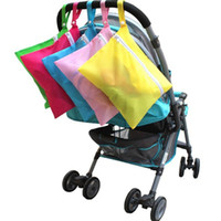 Wholesale Umbrella Bag Free Shipping - Wholesale- Amazing Baby Stroller Organizer Carrying Bag Pushchair Tarps Bag Umbrella Baby Car Bag Stroller Accessories Free Shipping