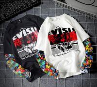 Wholesale Korean Hoodie Sweater Fashion - 2018 Korean large code men's casual hoodies sweater T-shirt coat