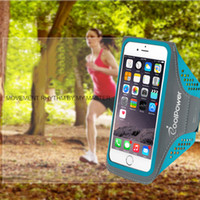Wholesale Sports Cell Phone Covers - Professional Waterproof Sport Armband Arm Band Case For iPhone 7 6 6S 7 Plus Warkout Running Gym Cell Phone Accessories Cover Bags Handbags