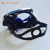 Wholesale Silicone Hood Mask - hood Super quality Full Face diving mask liquid silicone spearfishing mask snorkeling equipment scuba masks