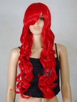 Wholesale Wavy 33 Inch Wig - Free Shipping>>>Red Curly Wavy Long Cosplay Wig - 33 inch High Temp - CosplayDNA Wigs