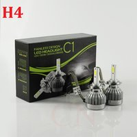 H4 Car Led Headlight High Power Auto H4-3 Hi / lo 9004 9007 H13 High Low 30W X2 bianco 6000K Bulb Repalcement Bi Xenon Headlamp