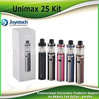 Wholesale Bfl Single - Original Joyetech Unimax 25 Starter Kit 5ml Atomizer 3000mah Battery TFTA Top Refilling Tank Authentic BFL 0.5OHM Coils 100% Genuine 2220067