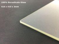 Wholesale 3d Printer Glass - Freeshipping Formbot T Rex 2 Borosilicate Glass 410 x 410 3mm 400 x 400 3mm Thickness For 3d Printer Formbot T Rex Build Plate Glass