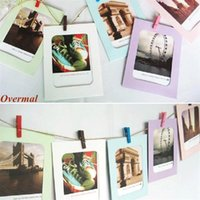 10Pcs foto marco caliente venta Overmal 5 6 7 pulgadas creativo regalo DIY Wall colgando de papel foto marco foto de la pared álbum al por mayor