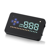 Wholesale speed building - Car 3.5 inch A2 GPS HUD Head Up Display,Bulit-in GPS Module Measure Driving Speed,Powered by Cigarette Lighter,Speeding Warning Projector