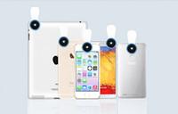 xiaomi geniş mercek toptan satış-Toptan-Klip Cep Telefonu Fotoğraf Lens Balık gözü + makro lens + geniş açı lens Xiaomi Mix Evo, Oppo 9 Bul, ZTE Hawkeye, Proje CSX