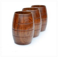 Wholesale Wood Glasses Shop - 2017, the new green tea cup, coffee-cup-beer-glass (200ml wood, suitable for restaurants, coffee shops, leisure places)