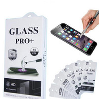 Universal shatterproof glass phone - Tempered Glass film Screen Protectors Anti Scratch shatterproof Protector For Smartphone android phone with retail package