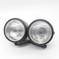 Wholesale Xenon Inch Fog Lights - Dongzhen Universal 8.5 inch Motorcycle LED Driving Light Motor Headlight LED Fog External Light Source Xenon Motorcycle Parts