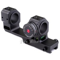 Discovery High Precision 24.5 / 30mm Universal One-piece Offset Scope Mounts Dual Ring com Angel e Level Instrument para Picatinn