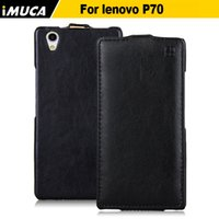 Wholesale Lenovo Mobile Flip Case - leather Lenovo 70 Luxury Leather for Lenovo 70 P70T 70a hone cover flip case mobile phone accessories capa