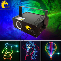 Wholesale Ilda Analog - ILDA 500mw RGB Analog modulation laser beam and animation with SD card dj party  club  disco ligting
