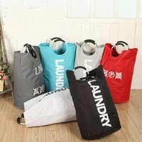 Wholesale dirty laundry clothing online - 28 wd Practical Storage Bag Dust Proof Pouch Multifunction Laundry Bags Foldable Dirty Clothes Organizing Basket Portable Eco Friendly