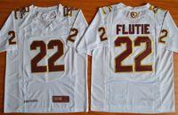 Wholesale 22 Events - #22 Doug Flutie Fenway Event Authentic Performance Jersey - White