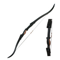 Wholesale Youth Bows - 2 Sides Arrow Rest Plastic Youth Archery Recurve Bows 54 inch 25lbs Larp Bows for Target Shooting Game