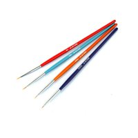 All'ingrosso-USTAR UA90026 modello a spazzola speciale Point # 00- # 00000 (4pcs / set) Hobby pittura Tools Accessori TTH