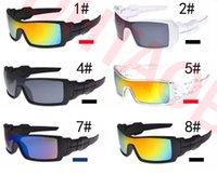 kayak güneş gözlüğü toptan satış-Yaz sürücü Bisikleti Eyewears Erkekler Bisiklet Gözlük Tırmanma Erkekler Kayak Açık Spor UV400 Koruma sürme Güneş Gözlüğü 9 renkler ücretsiz kargo