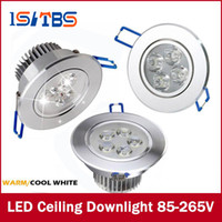Wholesale Spots Led 9w - Downlights 9W 12W 15W AC85V-265V LED Ceiling Downlight Recessed LED Wall lamp Spot light With LED Driver For Home Lighting