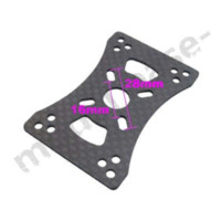 Wholesale Quadcopter Plate - 4x 3K CF Motor Mount Plate for 16mm 22mm 25mm Arm Tube Quadcopter Multirotor DIY plate element