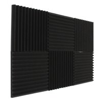 Wholesale Wholesale Soundproof Foam - 2017 Fireproof Newest Acoustic Foam Soundproof Studio Sound Proofing Room Treatment Absorption 30*30*3 cm