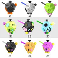 Wholesale Eva Cube - Fidget Cube 2 Stress Reliever Gifts Relieves Anxiety 12 Sided Magic Cube For Adults Kids Anti Stress EDC Fidget Hand Spinner