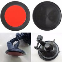 Wholesale Adhesive Mounting Disc - Wholesale-2Pcs 80mm Adhesive Sticky Sucker Dashboard Suction Cup Disc Disk Pad For Car GPS Phone Holder Mount