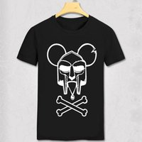Wholesale Mf Black - Free Shipping MF DOOM Wu Tang Madlib Madvillain Charlie Doom Charlie Brown Hip Hop Rap T Shirts