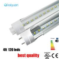 tubo led 28w al por mayor-mejor calidad t8 4ft 22W 28w 96led 120led LED fluorecent tubo luz G13 1.2 m PC SMD2835 led Tubos Lámparas AC 85-265V reemplazo dentro de 3 años