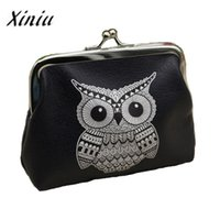 Wholesale compartments tray - Xiniu Ladies wallets and purses anime wallets Elephant Pattern purse for Owl Coin Purse female money tray case for cards#0516SW