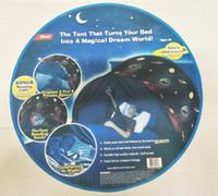 pop-ups spielzeug großhandel-Outdoor Traumzelte Weltraum Abenteuer Fortable Pop Up Bed Weihnachtsdekoration Spielzeugzelte Camping Wandern ohne Nachtlicht