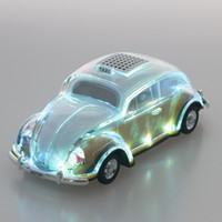 Wholesale Ma Usb - Taxi Model Bluetooth Speaker WS1937BT with Coloful Crystal LED Player Support External battery FM TF USB Aux in Best As X MAS Gift DHL free
