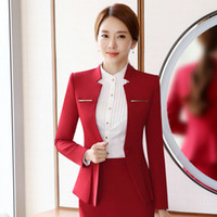 Wholesale Women Ladies Office Jacket - Elegant Design Women Blazers and Jackets One Button Slim Bodycon Ladies Long Sleeve Blazer Office Work Wear Business Jacket Outwear