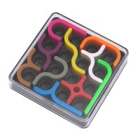 Wholesale Learning Jigsaw Puzzle Wholesale - IQ Link Puzzles Toys Child Jigsaw Puzzle Learning & Educational Toys for Children (Size: 0, Color: Multicolor)