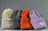 orangenschädelkappen großhandel-8 Farbe Unisex Winter gestrickte warme Hüte Smile Face Wolle Knit Beanie Schädel Caps Sport Hüte Basketball Caps Skelett Hut Hip-Hop-Kappe