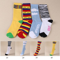 Wholesale tables manufacturers - Hot Sale ODD FUTURE OFWGKTA Gradient Scoks High Quality Cotton Outdoor Sports Socks Football Socks Manufacturers In Stock Fast Shipping