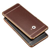 Wholesale Note2 Leather Cover - Xiaomi Redmi Note 3 Pro 2 Redmi 4A 4 A MI5 Mi MIX Note2 Case Soft Silicone Leather Pattern Gold Plated TPU Cover