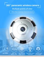 Wholesale View Sales - Hot sale IP camera 1080P 360 degree Full View Mini CCTV Camera Network Home Security WiFi Camera Panoramic