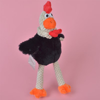 black baby chickens - 35cm Black Color Chicken Brand New Soft Stuffed Cloth Hen Plush Toy Baby Kids Brithdat Party Doll Gift